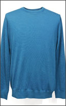 tokyo gimmicks - WOOL KNIT -Turquoise Blue-