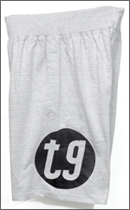tokyo gimmicks - ROOM SHORTS -Heather Grey-