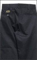 SEVENTY FOUR - CHINO UTILITY WORK PANTS -Black-