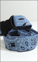 tokyo gimmicks - ONE AND ONLY SERIES BANDANA BELT -Chambray-