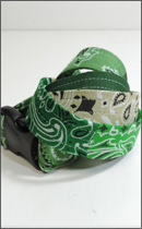 tokyo gimmicks - ONE AND ONLY SERIES BANDANA BELT -Green-