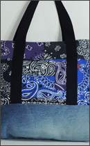 tokyo gimmicks - ONE AND ONLY SERIES BANDANA TOTE BAG - RAH exclusive -