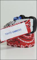 tokyo gimmicks - ONE AND ONLY SERIES BANDANA BELT -USA-