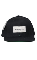 The Seventh Letter - WHITE LABEL SNAPBACK -Black-