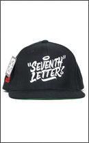 The Seventh Letter - SEVENTH SNAPBACK -Black-