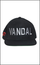 The Seventh Letter - VANDAL SNAPBACK -Black-