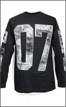 The Seventh Letter - WAR OF WORDS L/S TEE -Black-