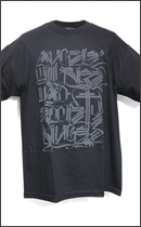 The Seventh Letter - Angels TEE -Black/3M-