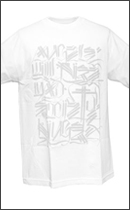 The Seventh Letter - Angels TEE -White/Silver-