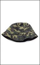 BRIXTON - TULL BUCKET HAT -Brown/Camo-