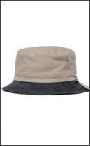 BRIXTON - TULL BUCKET HAT -Brown/Navy-