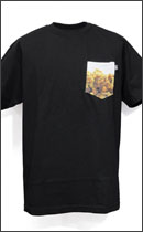DISSIZIT! - POCKET RX Tee -Black-