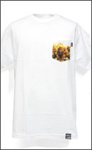 DISSIZIT! - POCKET RX Tee -White-
