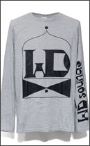 Other Brand - IN & OUT CLASSIC LONG SLEEVE T-SHIRTS -H.Grey/White-