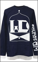 Other Brand - IN & OUT CLASSIC LONG SLEEVE T-SHIRTS -Navy/White-